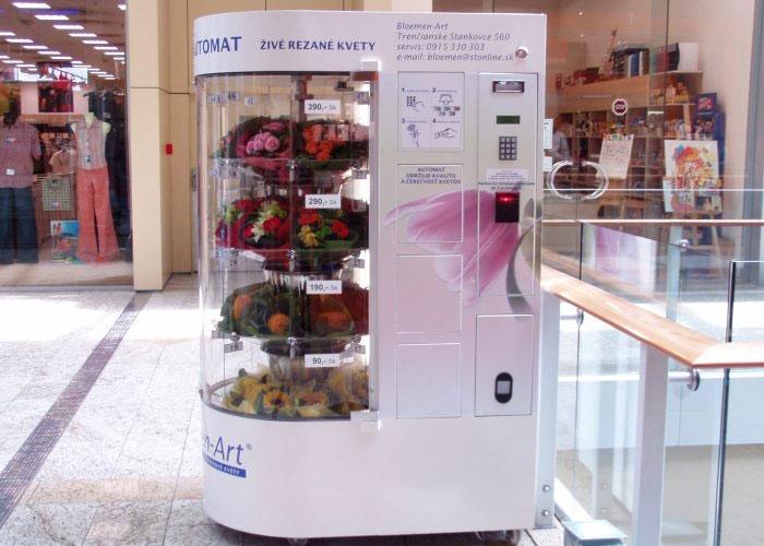 Флоромат вендинговый автомат по продаже живых цветов