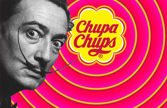 Сальвадор Дали - создатель логотипа Chupa Chups.