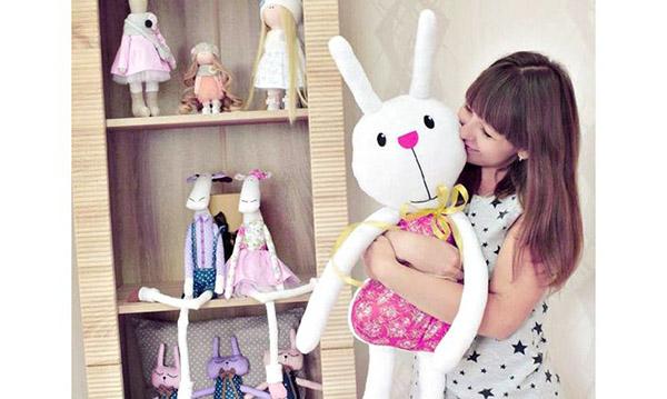 пошив детских игрушек увлекателен и прост
