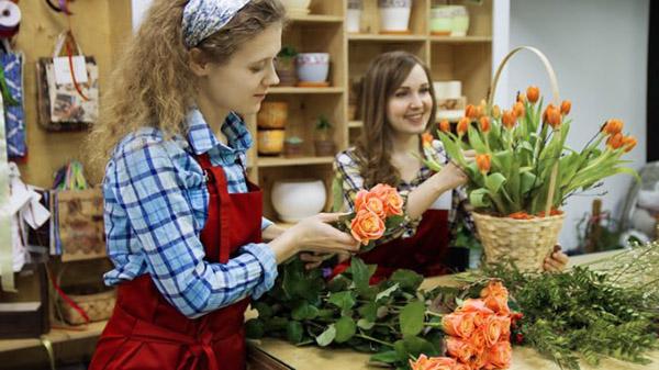 девушки флористки