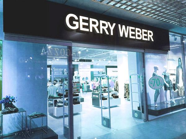 Витрина магазина Gerry Weber